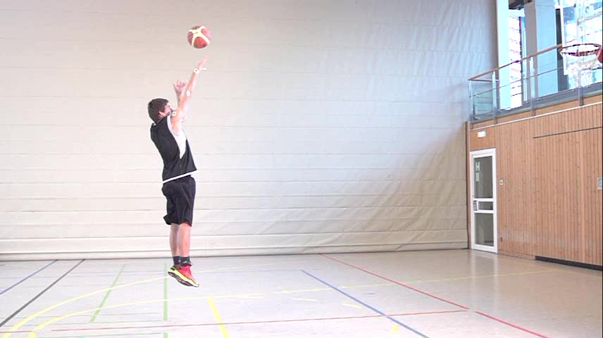 Lehrvideo - Basketball: Sprungwurf